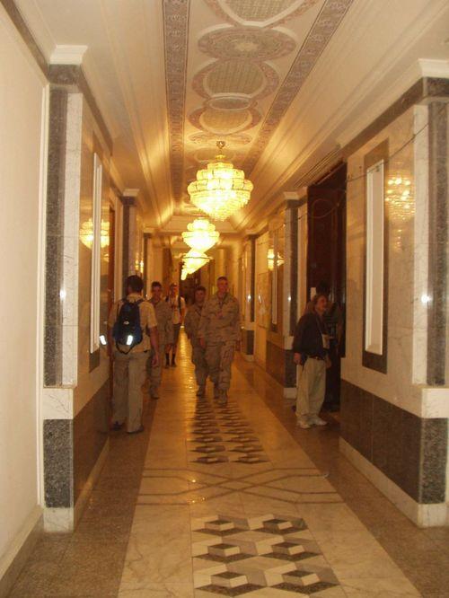 101 - The desolate halls of power